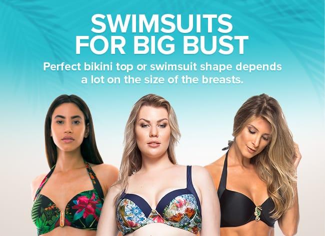 Bikini tops for bigger busts