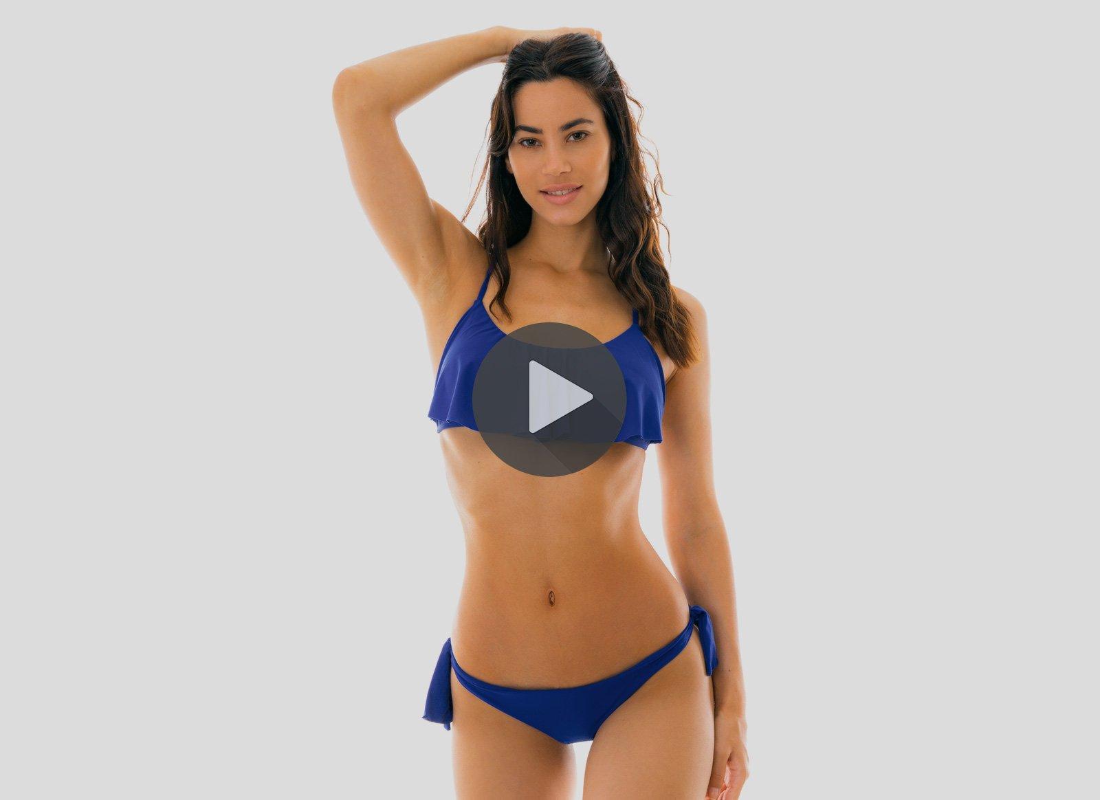 737a4f41079 Turquoise Swimsuit & swimwear | Light blue & Navy bikini