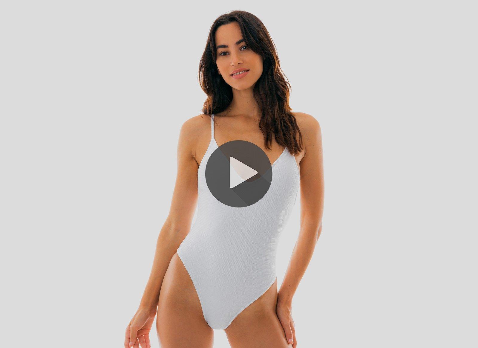 White Swimwear - White Bikini   Swimsuits b3aadeb6bd