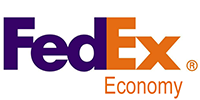 Fedex Economy (Duty delivered paid, no additional charges on delivery)