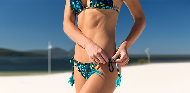 Scrunch bikini