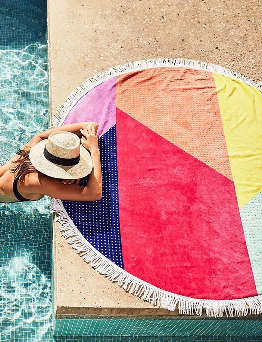 Women's beach towel