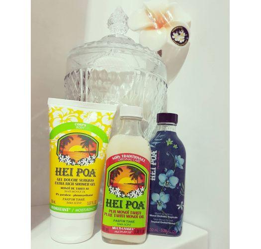 Emollient-rich shower gel with Tahiti monoi - GEL DOUCHE SURGRAS TIARE 150ML