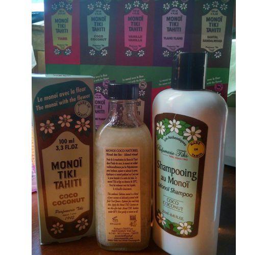 Taiti monoī šampūns ar kokosriekstu aromātu - TIKI SHAMPOING MONOI COCO 250ml