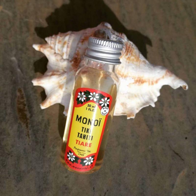 Tiare doftande Monoï- olja, 100% naturlig - TIKI monoi Tiare 30 ml
