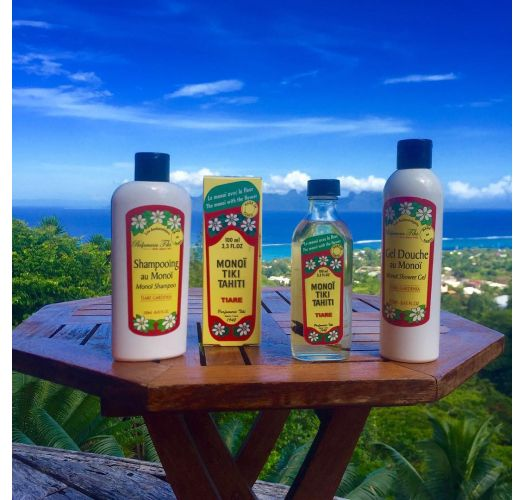 Tahiti monoď gel za tuširanje s mirisom cvijetaTiaré- GEL DOUCHE AU MONOI 250ml