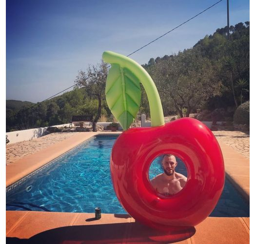 Inflatable ring - cherry - RING CHERRY