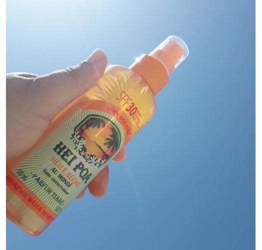 Monoi sprej se suchým olejem s SPF30 - HUILE SÈCHE TIARE SPF30 150ML