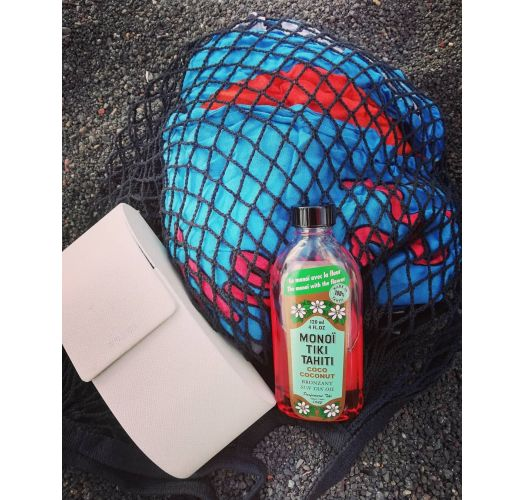 Monoďs s kokosom, SPF 3, bez parabena - Tiki Monoi Coco SPF3 120 ml