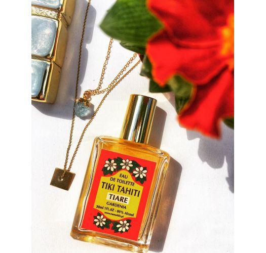 Парфюм с ароматом цветов тиаре в стеклянном флаконе без пульверизатора - EAU DE TOILETTE TIKI TIARE 30ML
