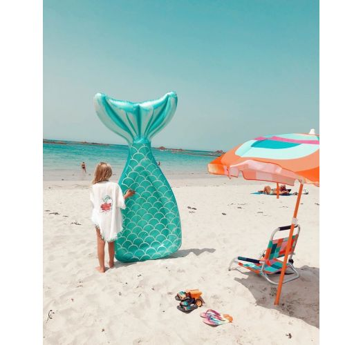 Lie-on adult buoy - mermaid tail shape - LUXE LIE-ON FLOAT MERMAID