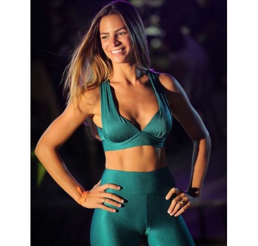 DUNA GREEN TOP FITNESS
