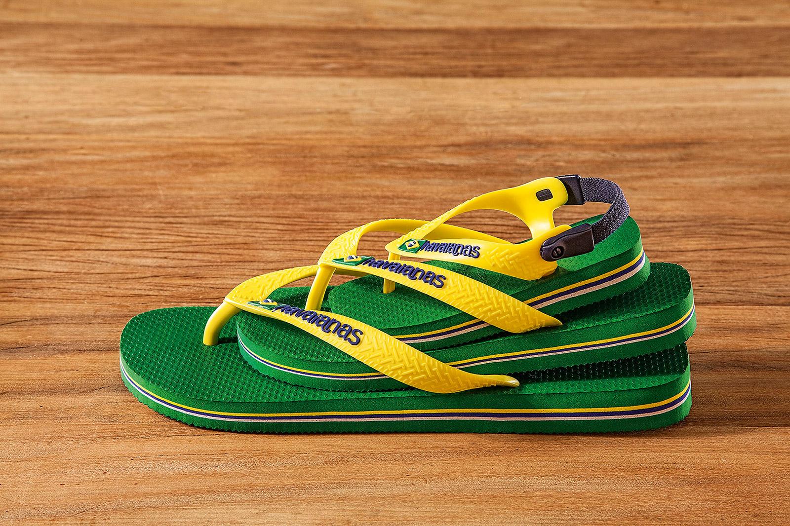 818925e13340 Sandals Flip-flops - Havaianas Baby Brasil Logo Green