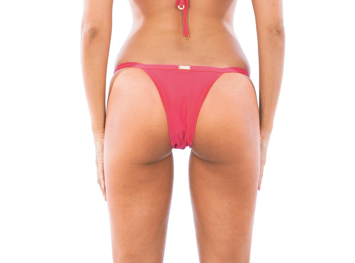 High cut bikini adjustable