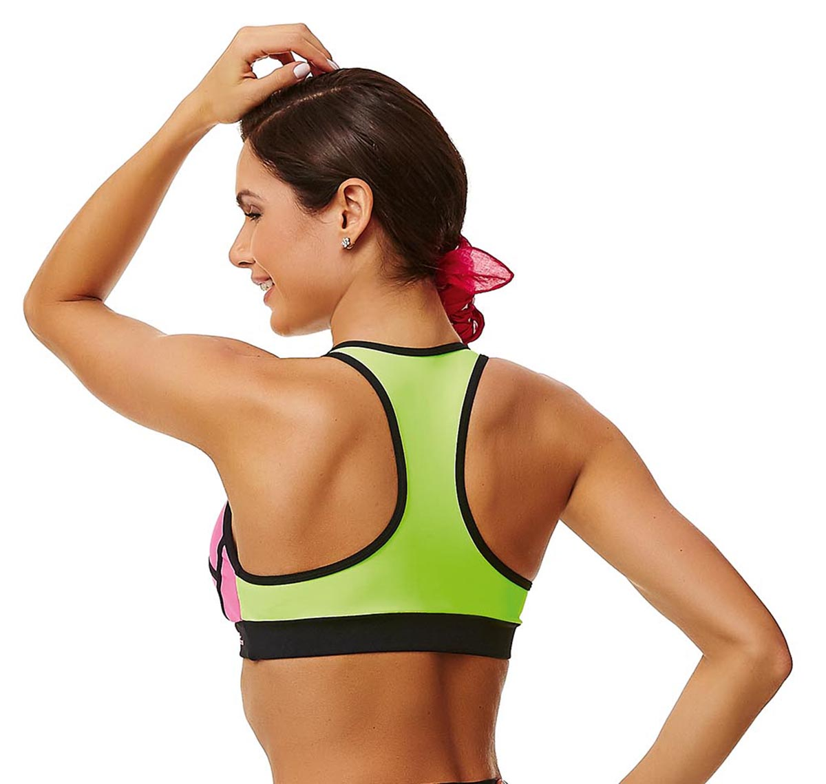 554cc7c1f0879 Fitness top Neon Pink
