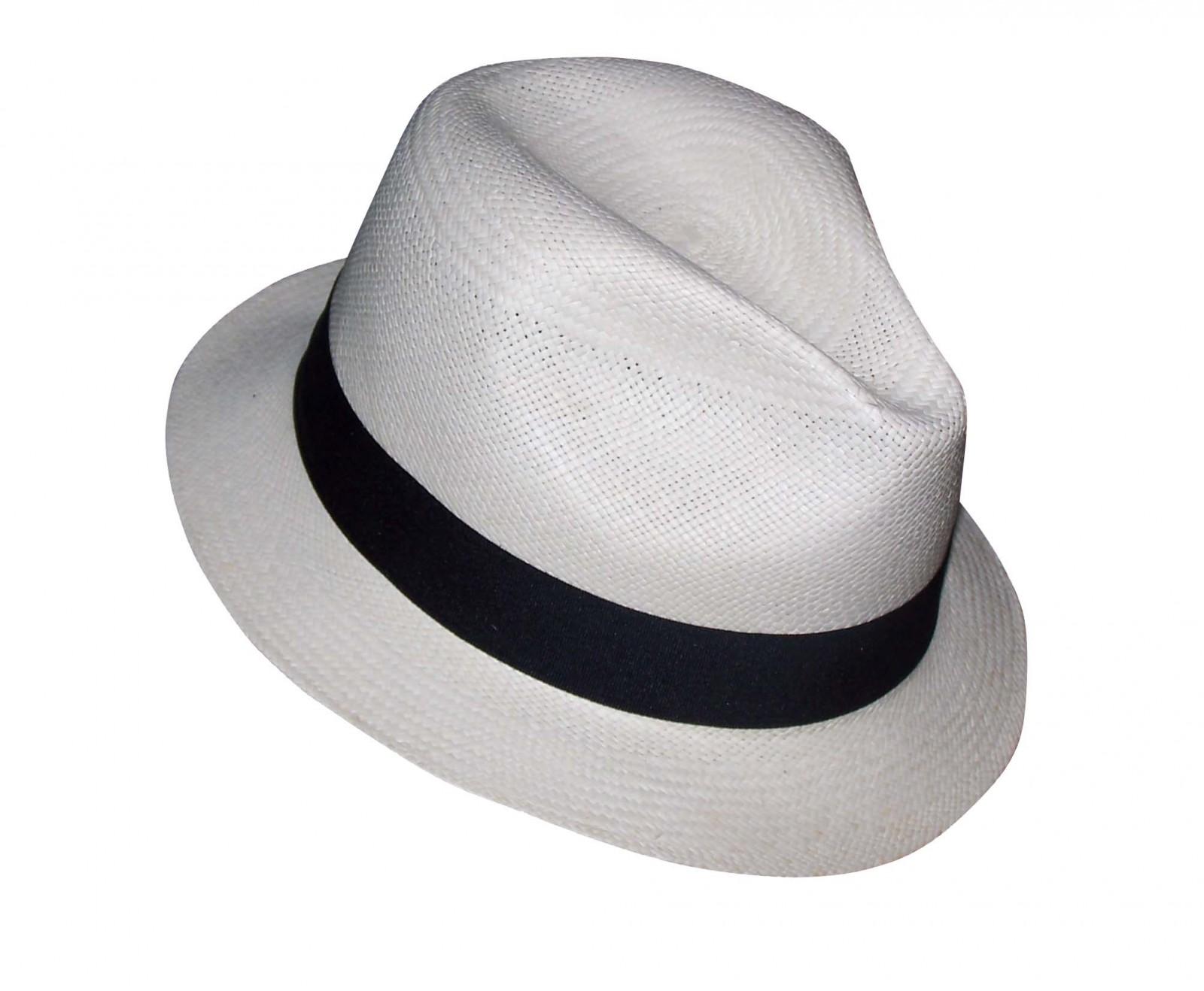 3f90cf2c56207 Sombrero Sombrero Panamá - Adrien Blanco - Marca De Punta En Blanco