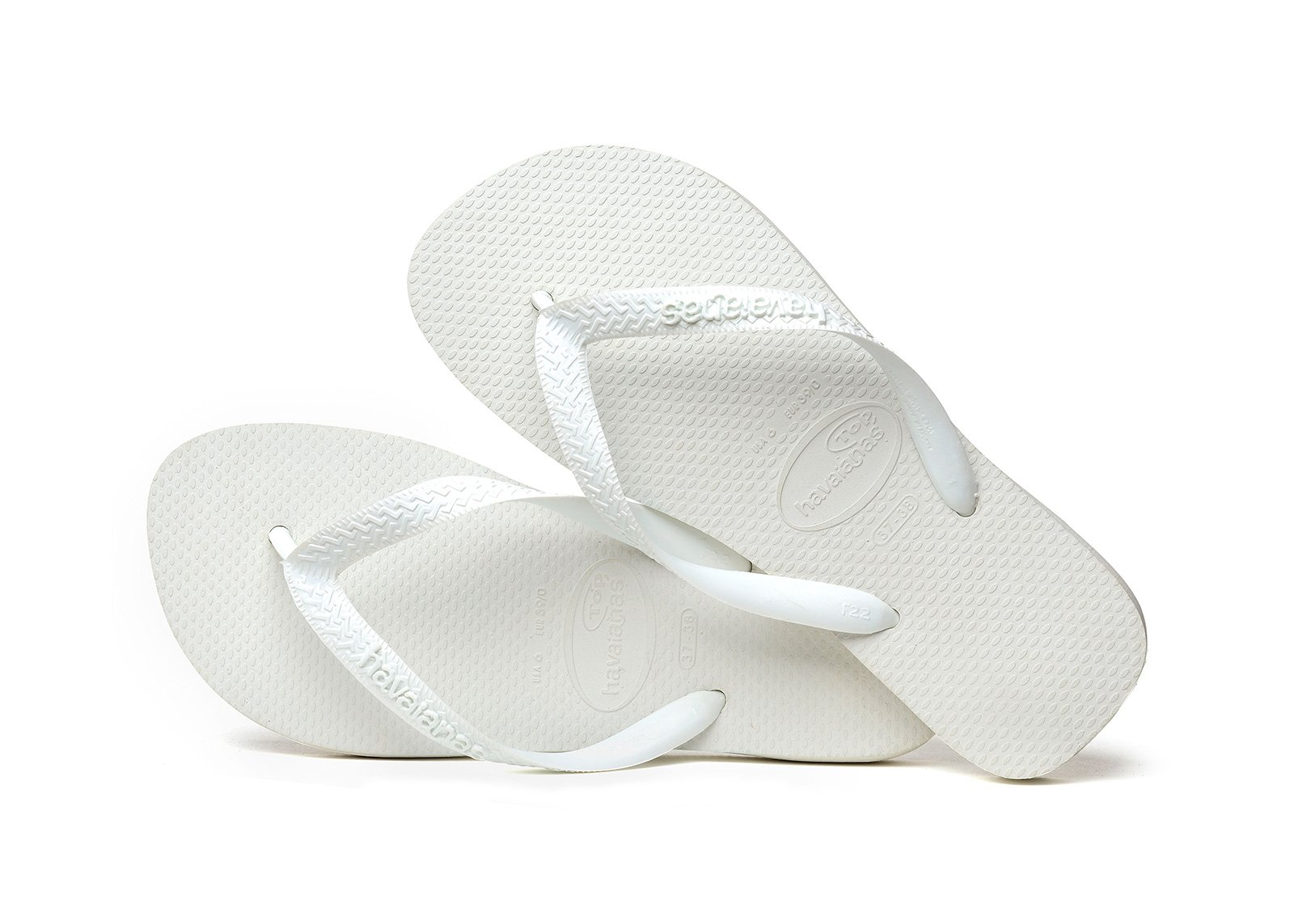 Havaianas Womens Top White Flip Flops