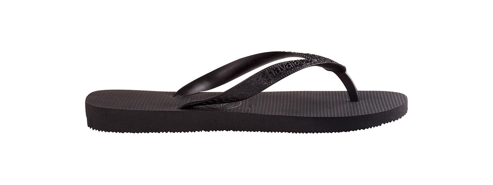 Havaianas Top Chaussures Tongs-Noir Toutes Tailles