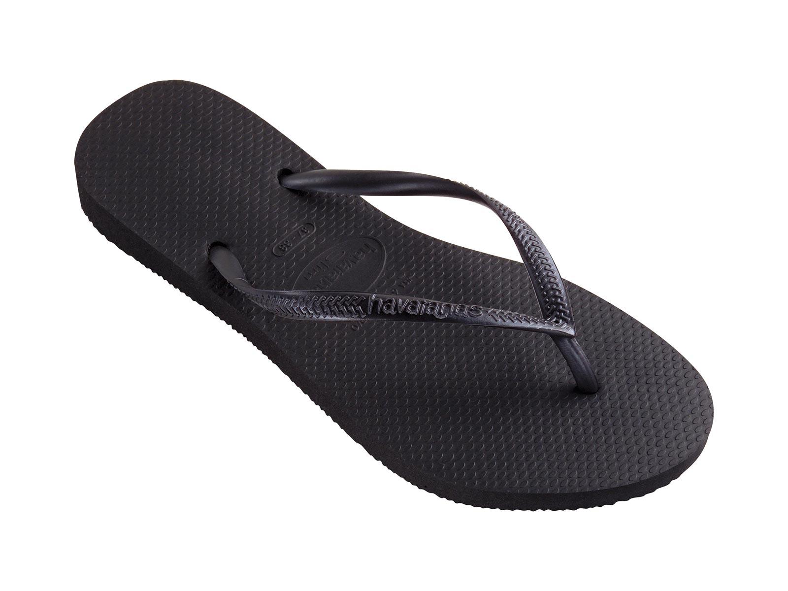 58b845ff1 Flip-Flops Flip-flops - Slim Black - Brand Havaianas