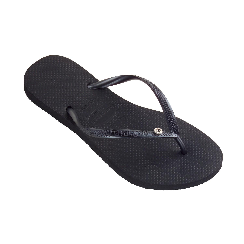 99432d1172fa Flip-Flops Flip-flops - Slim Crystal Glamour Sw Black
