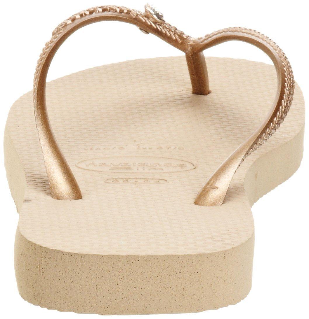 39ba65e64 Flip-Flops Flip-flops - Slim Crystal Glamour Sw Sand Grey