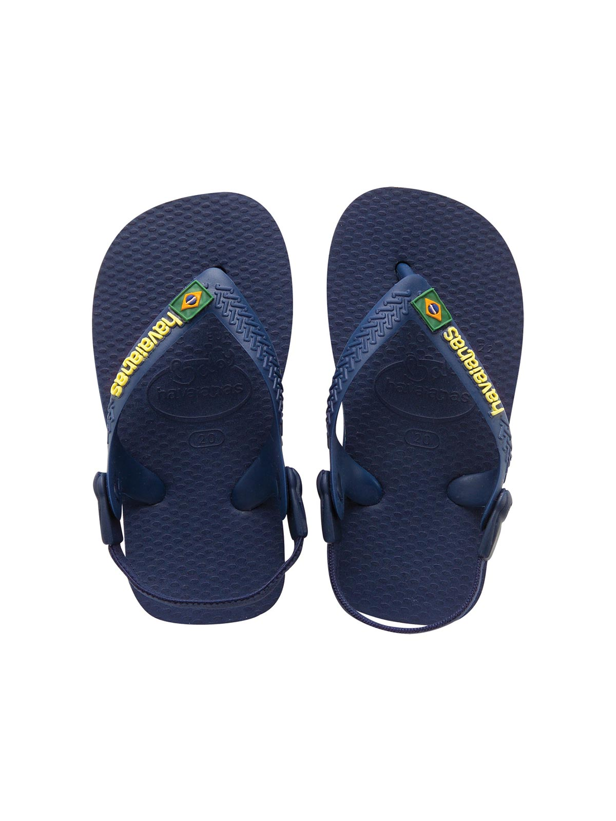 090f8953e Flip-Flops Flip-flops - Baby Brasil Logo Navy Blue yellow