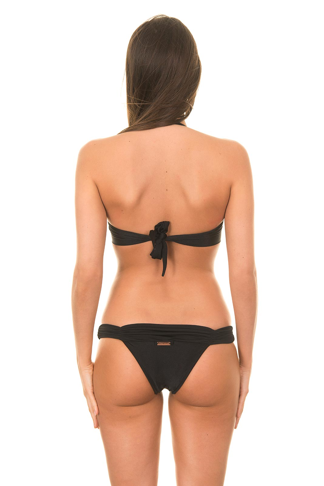 Black Bandeau Bikini 22