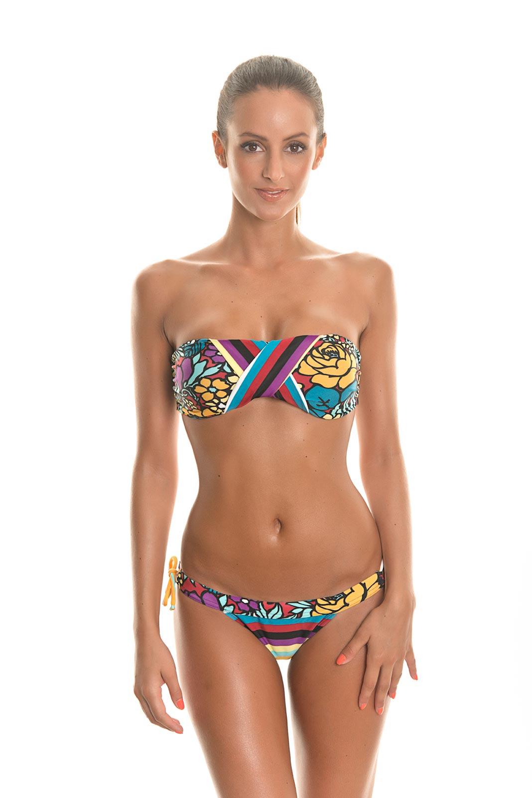 Bandeau bikini and