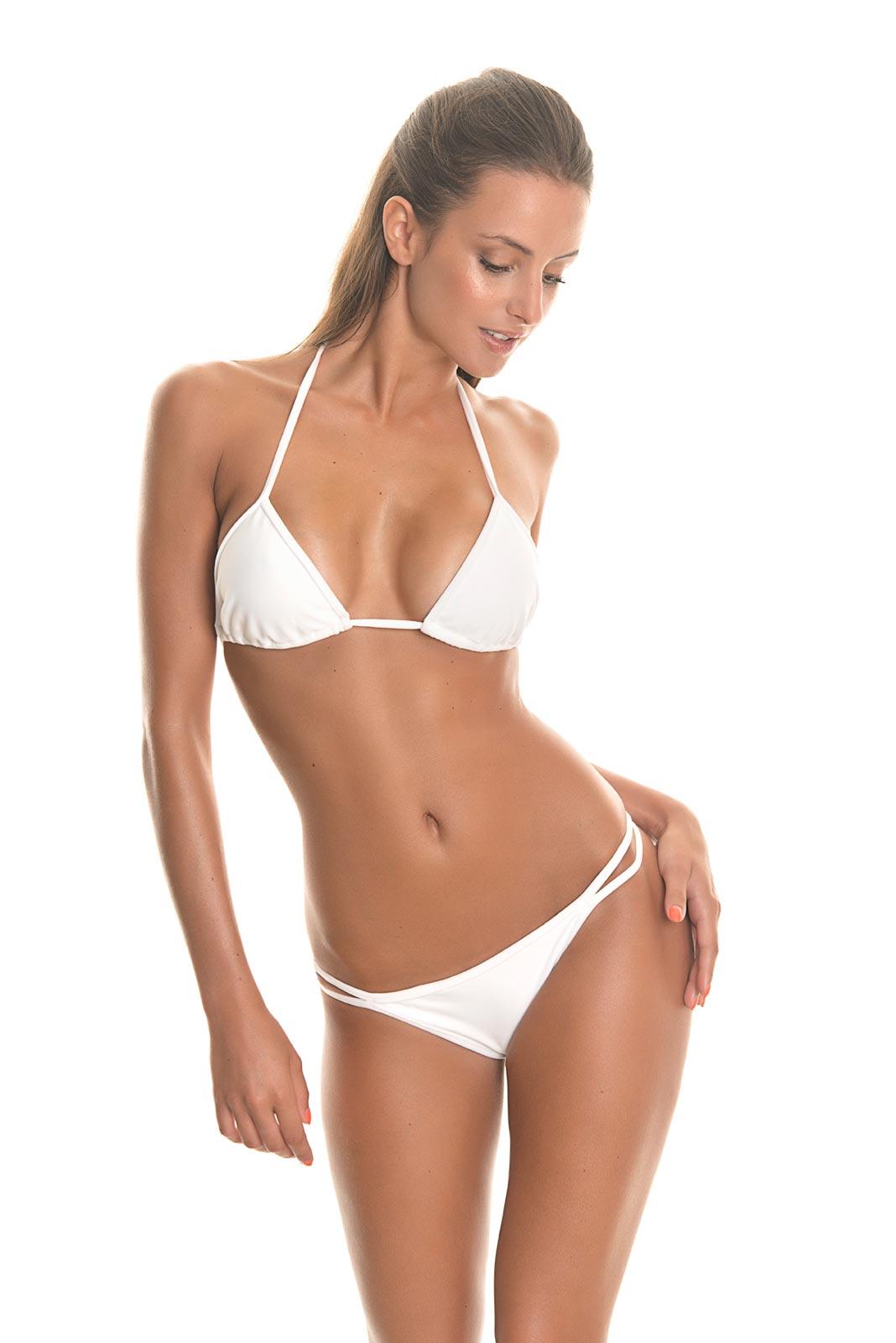 brazilian bikini bottoms are generally high cut and rather low rise