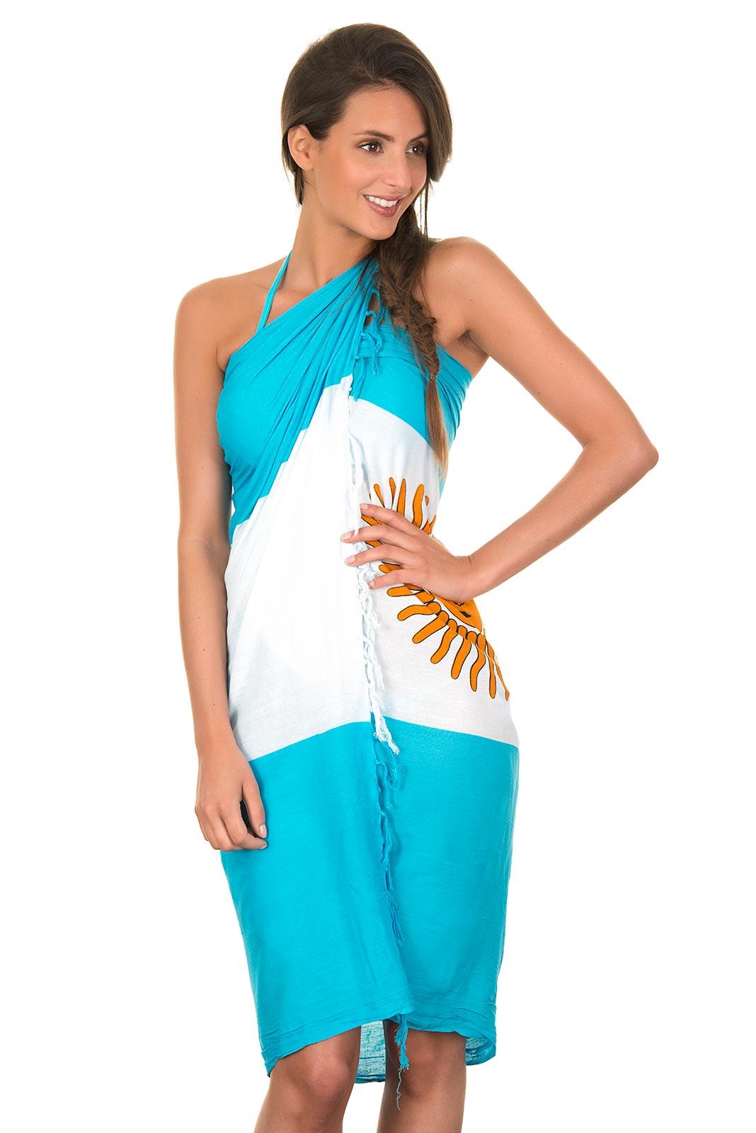 Argentina Flag Dress