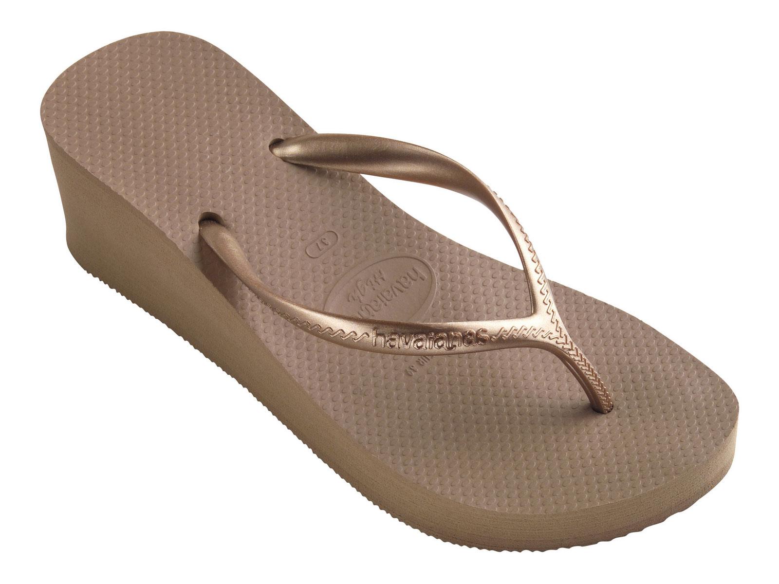 Flip-Flops Flip-Flops - High Fashion Rose Gold - Brand -9717