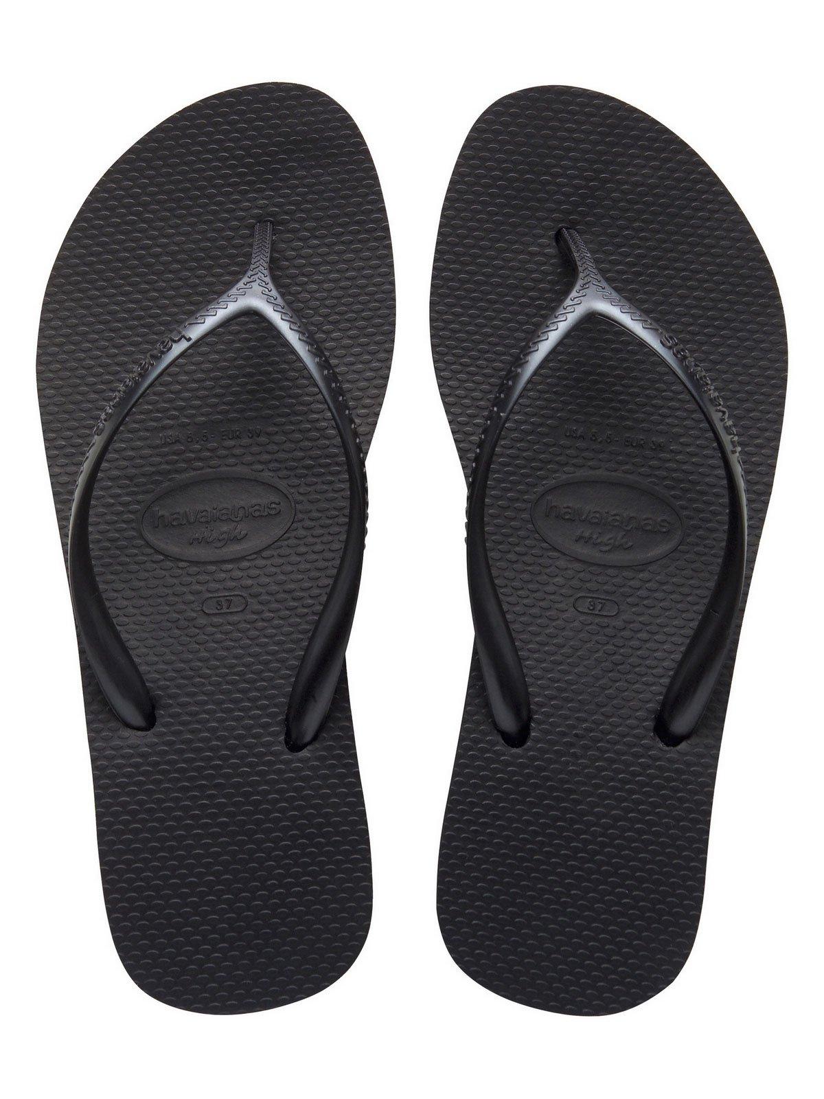 Flip Flops Zehentrenner High Fashion Black Marke Havaianas