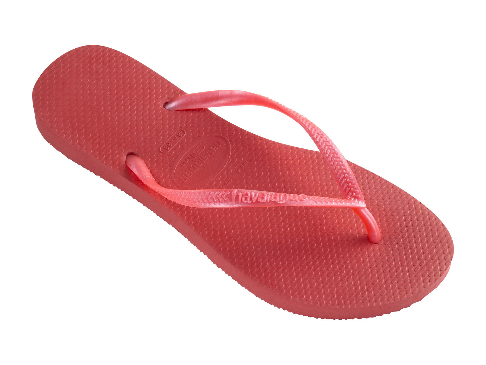 Flip-Flops - Slim Guava Red ...