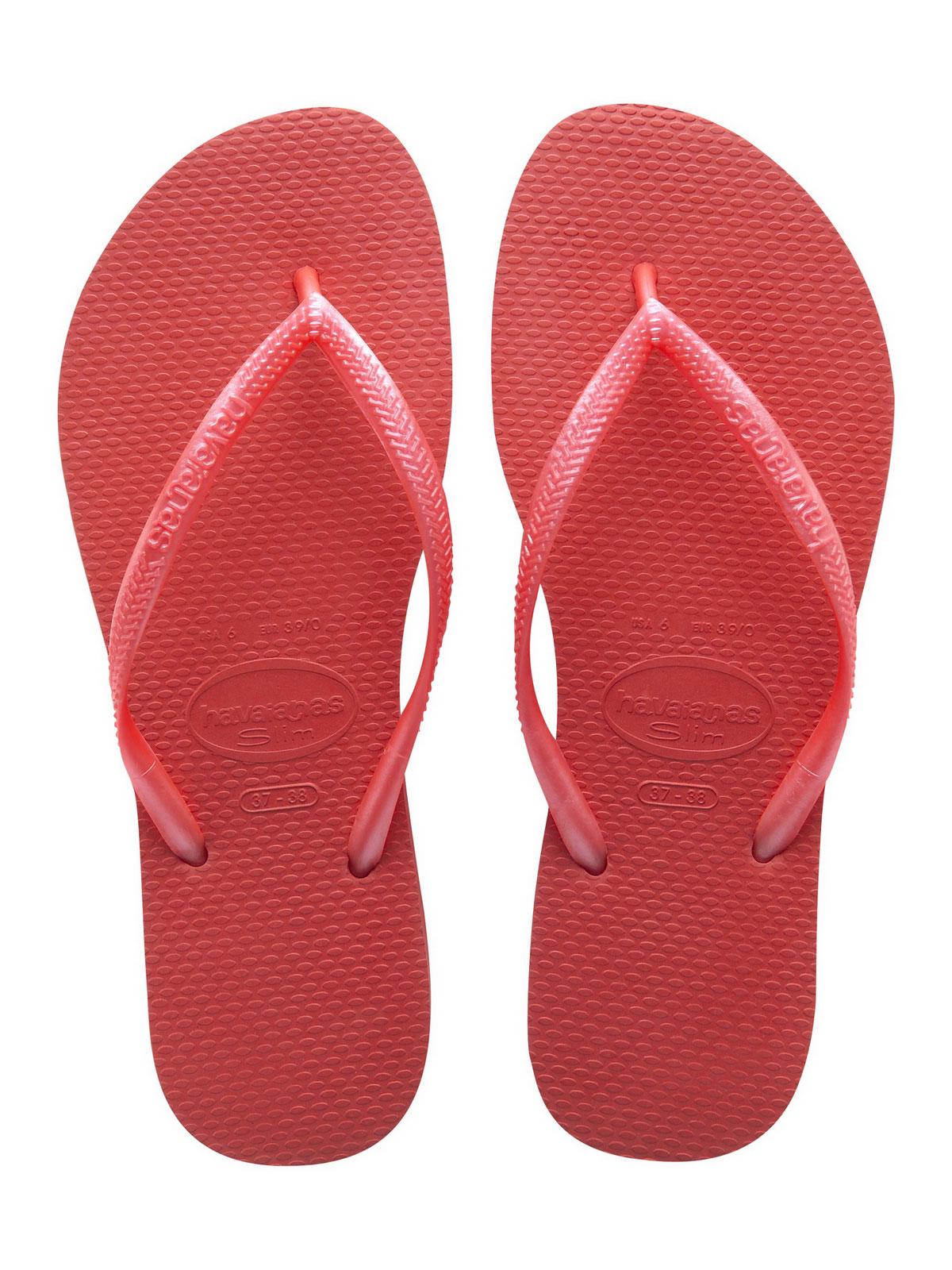 23d7537a7ab5c4 Flip-Flops Flip-flops - Slim Guava Red - Brand Havaianas