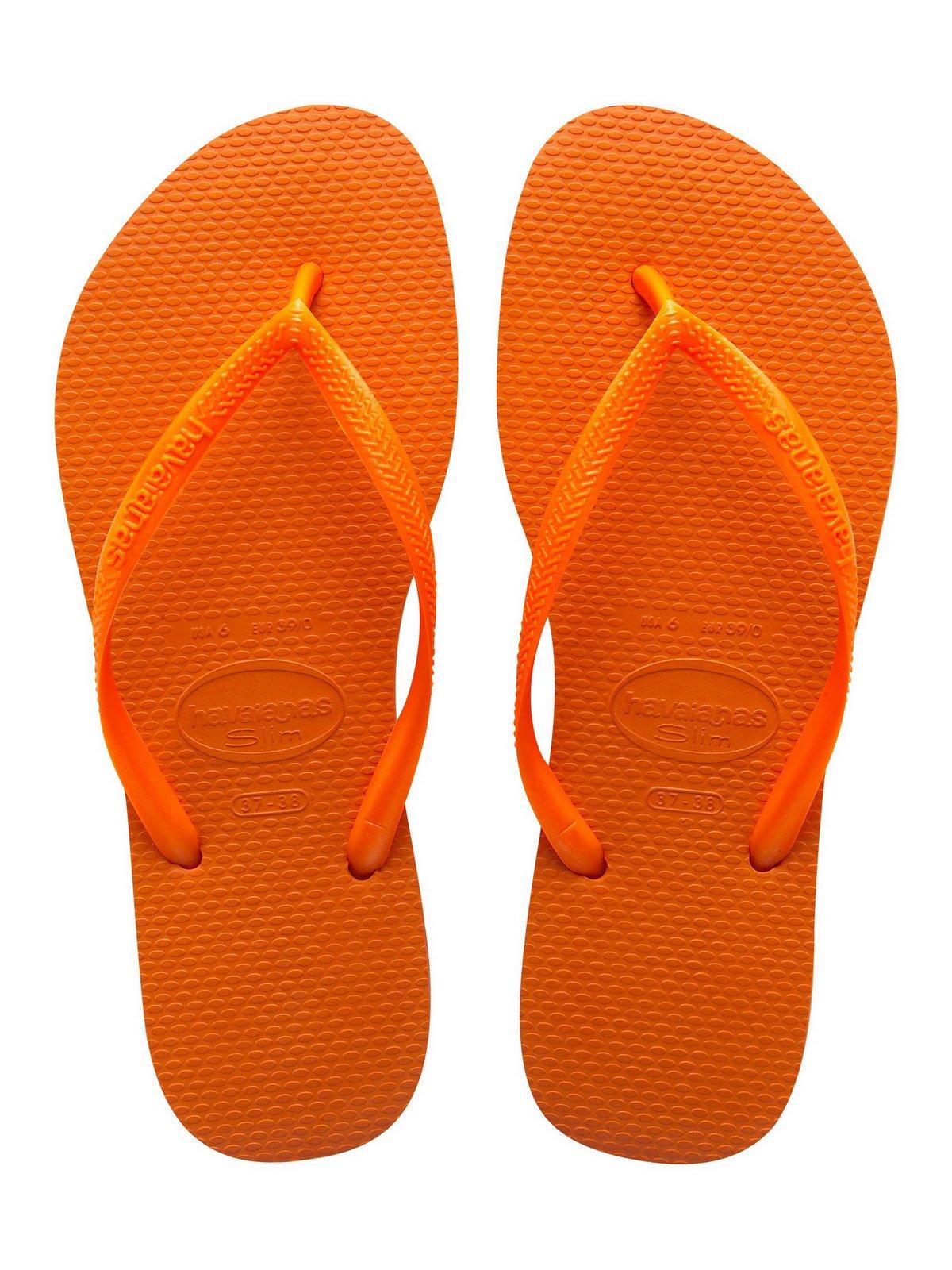 0d1ad780944e Flip-Flops Flip-flops - Slim Neon Orange - Brand Havaianas