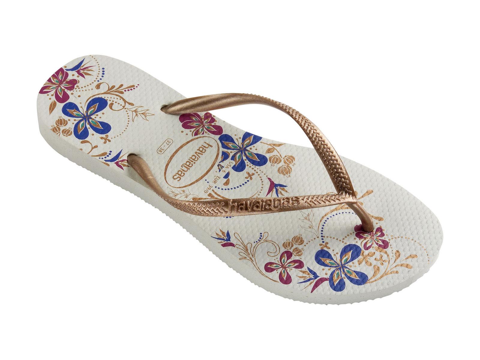 havaianas flip flops slim season white rose gold. Black Bedroom Furniture Sets. Home Design Ideas
