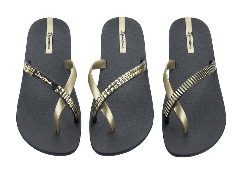 Flip Flops Without Straps Flip-flops Pair of 3 Black
