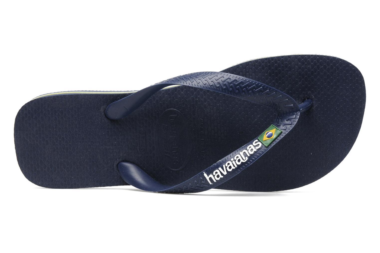3e8635929 Flip-Flops Flip-flops - Brasil Logo Navy Blue - Brand Havaianas