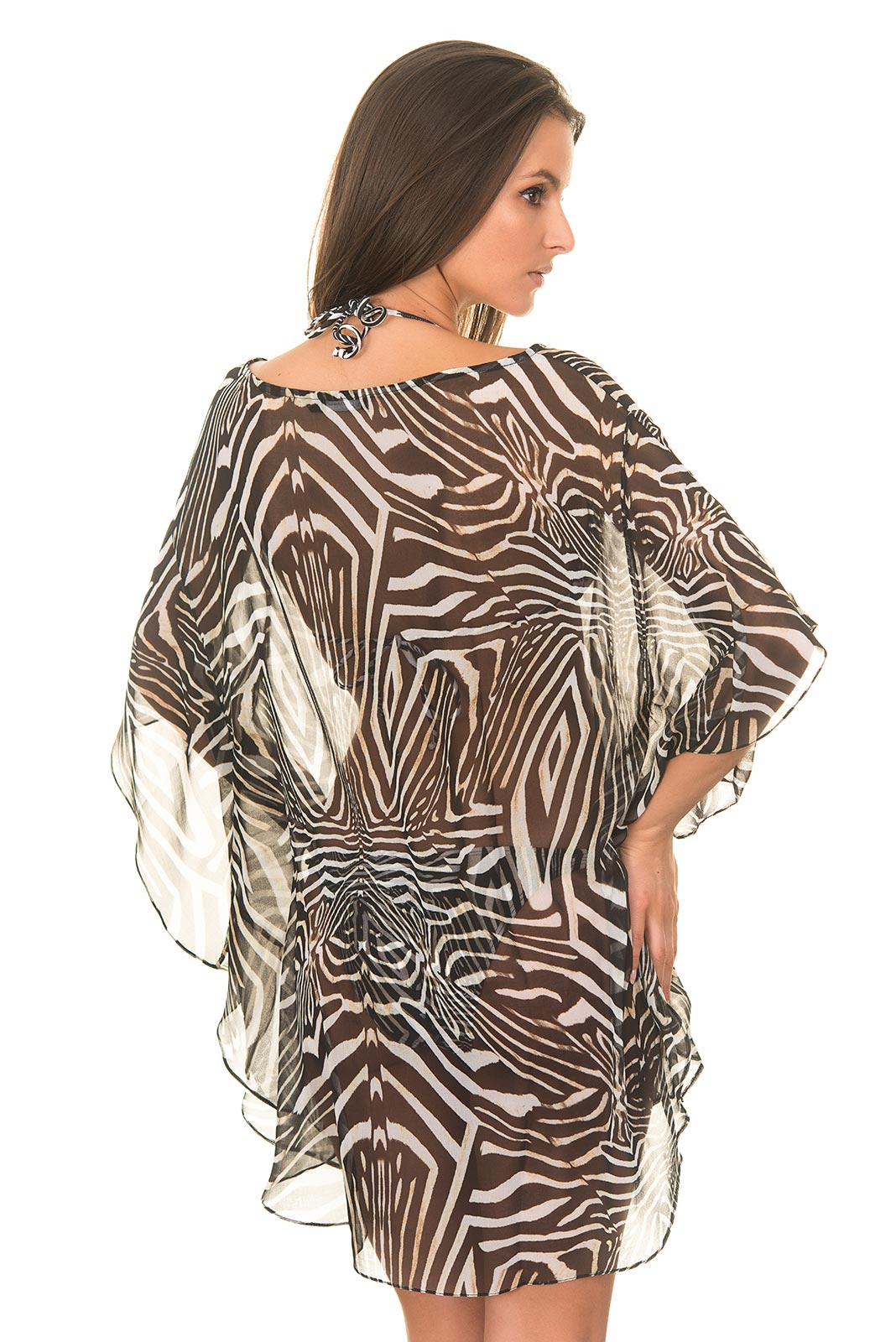 lenny niemeyer strandkleidung kaftan ju zebra. Black Bedroom Furniture Sets. Home Design Ideas