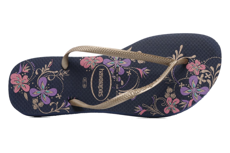 Havaianas Flip-Flops - Slim Season White-Rose Gold-8879