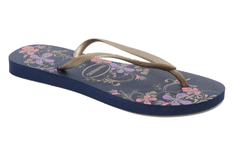 Havaianas Flip-Flops - Slim Season White-Rose Gold-7893