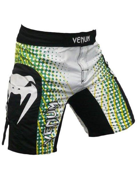 Traje De Baño Verde Hombre:Traje de baño para hombres – Venum ELECTRON ICE – MMA Shorts