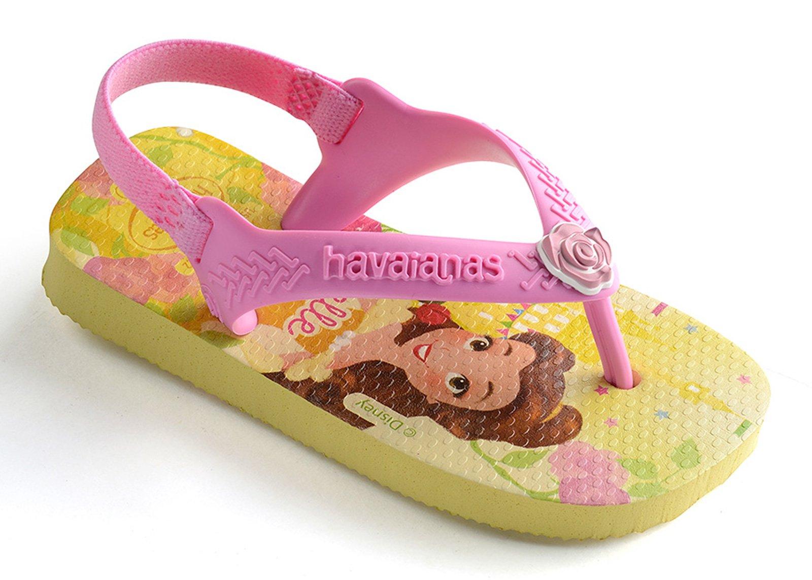 f264694fd2ae Sandales Baby Disney Princess Pollen Yellow - Marque Havaianas