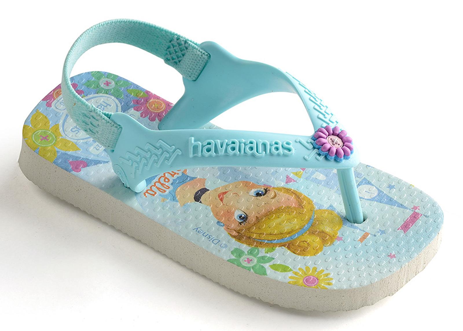 7e4b56aee3a Σανδάλια Baby Disney Princess White-ice Blue - Κατασκευαστές Havaianas