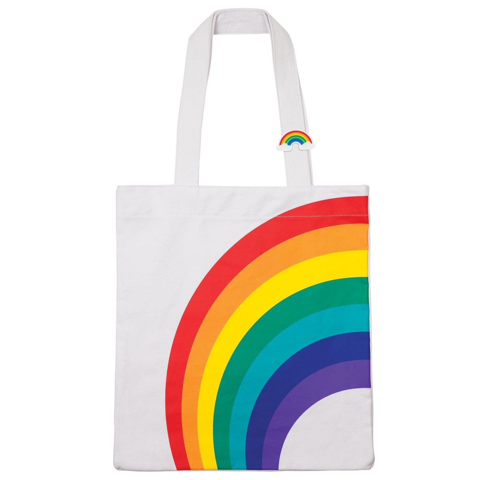 Borsa Stile Tot Bang Da Spiaggia Con Fanatsia Arcobaleno Cool Rainbow