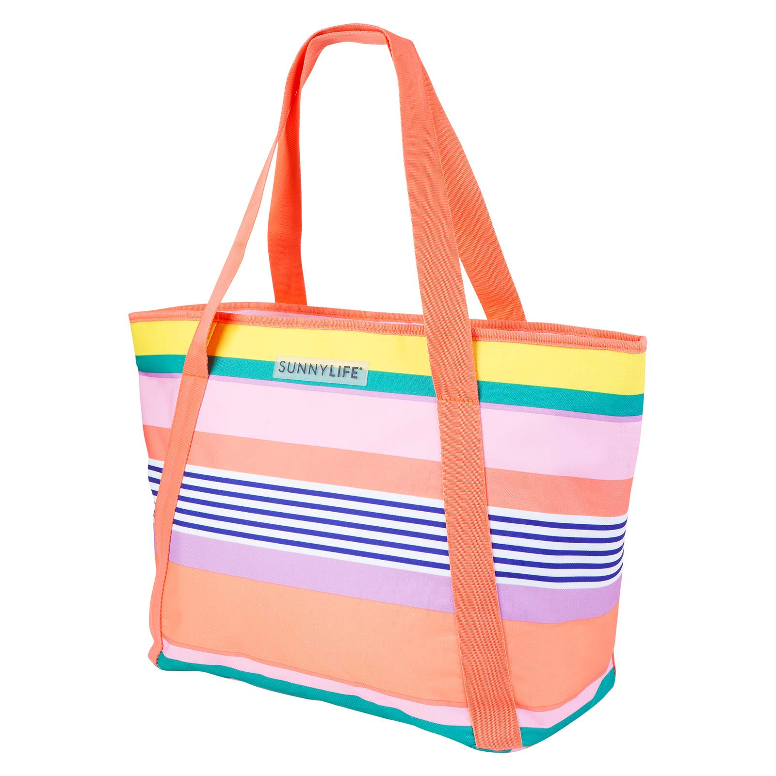 Sunnylife Colourful Striped Beach Cool Bag - Cooler Bag Havana