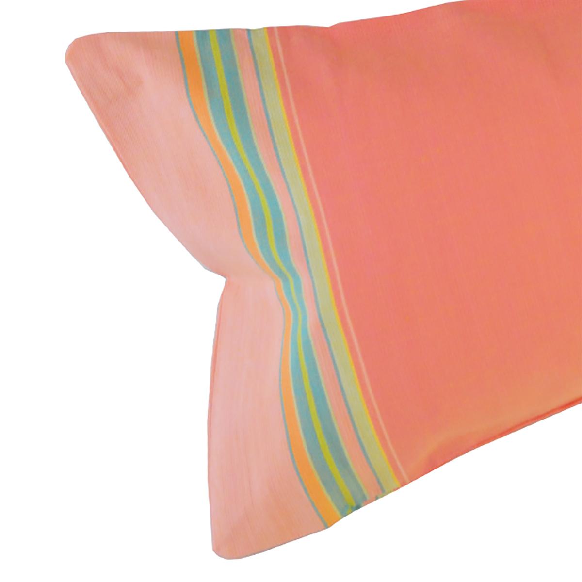 68c3913299 Coussin De Plage Déhoussable Coloris Pêche - Relax Amazone - Simone ...