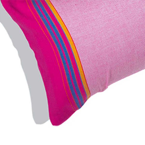 coussin de plage gonflable et taie rose clair relax napenda. Black Bedroom Furniture Sets. Home Design Ideas