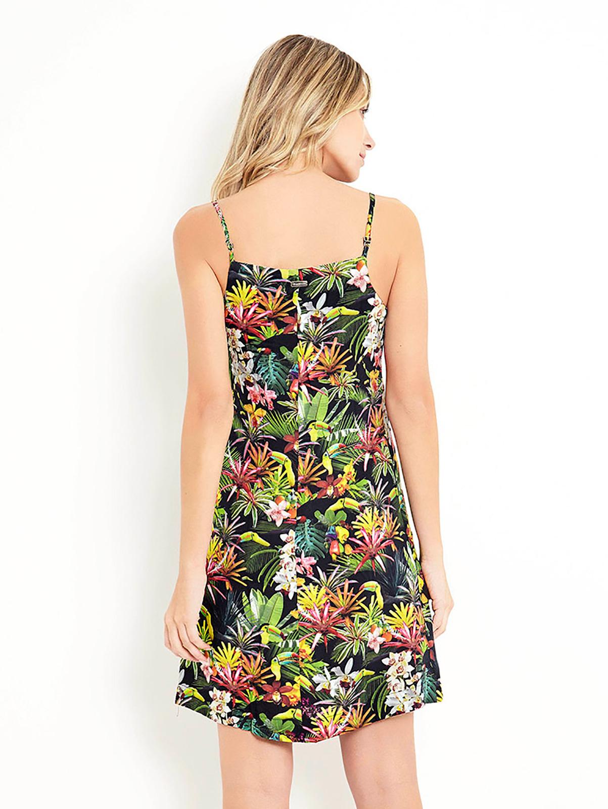 98881f535 Vestidos playeros Vestido Veraniego Floral Corto - Vestido Atlas