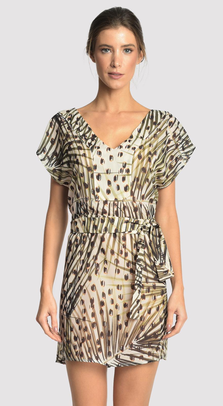 d3c2ec2d6b Maxi Dresses Beach Mini Dress In Leopard Print - Basic Strip Cheetah